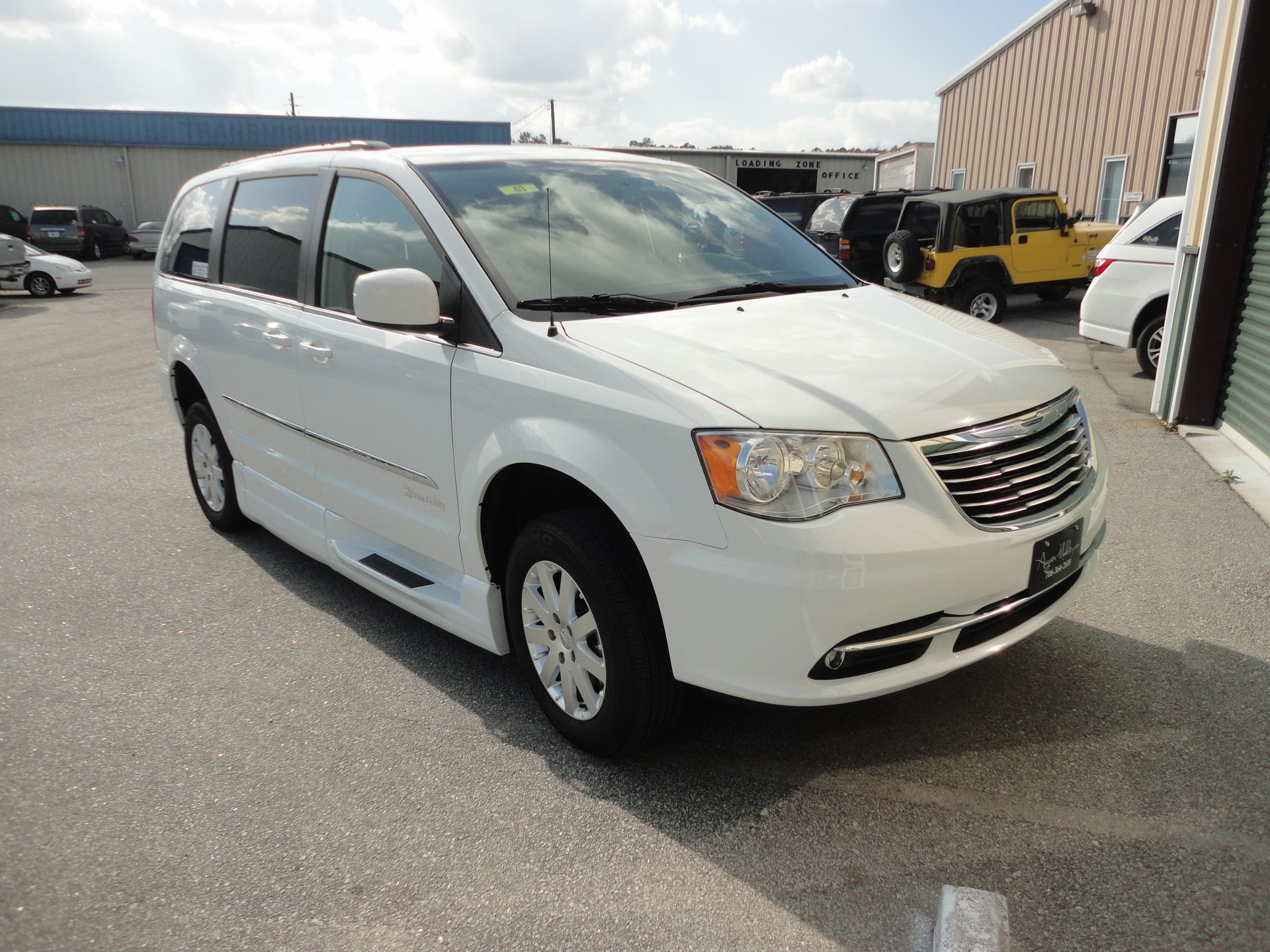 2015 Chrysler Town And Country Stock 63 Wheelchair Van For Sale Adaptive Driving Solutions