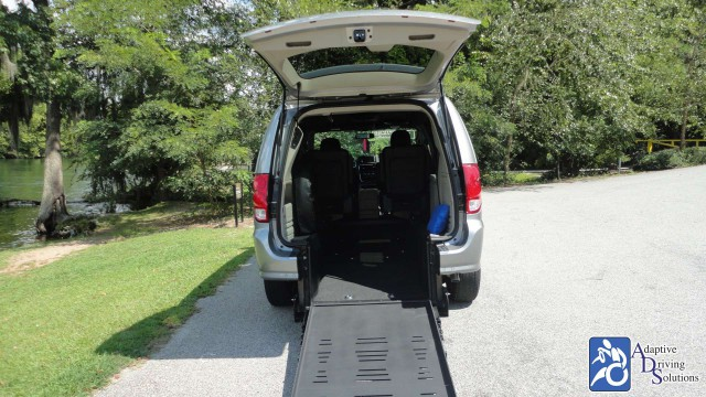 2017 Dodge Grand Caravan BraunAbility Dodge Power Rear Entrywheelchair van for sale