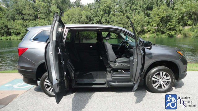 2018 Honda Pilot Wheelchair Van - Adaptive Driving Solutions