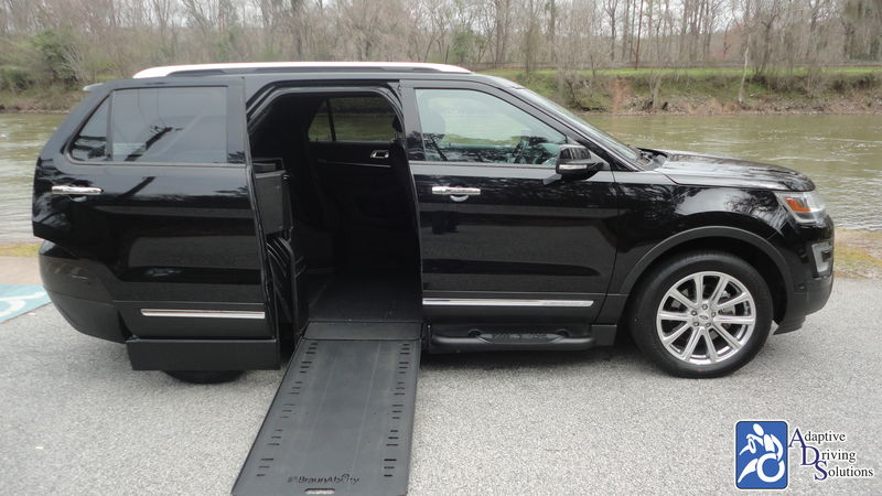 2016 Ford Explorer Wheelchair Van - Adaptive Driving Solutions