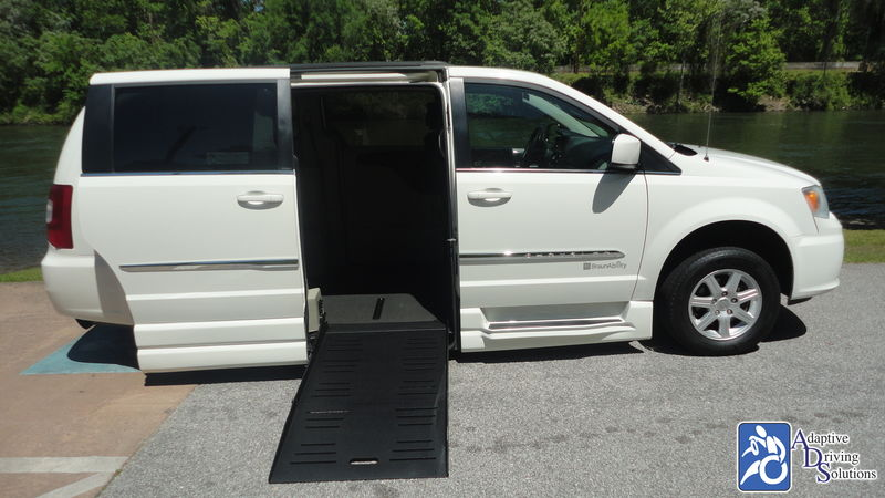 2011 Chrysler Town and Country Wheelchair Van - Adaptive Driving Solutions