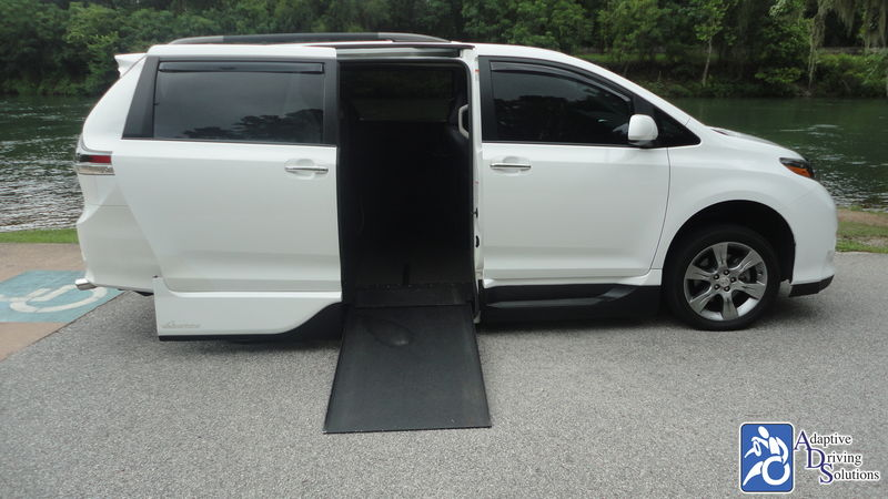 2015 Toyota Sienna Wheelchair Van - Adaptive Driving Solutions