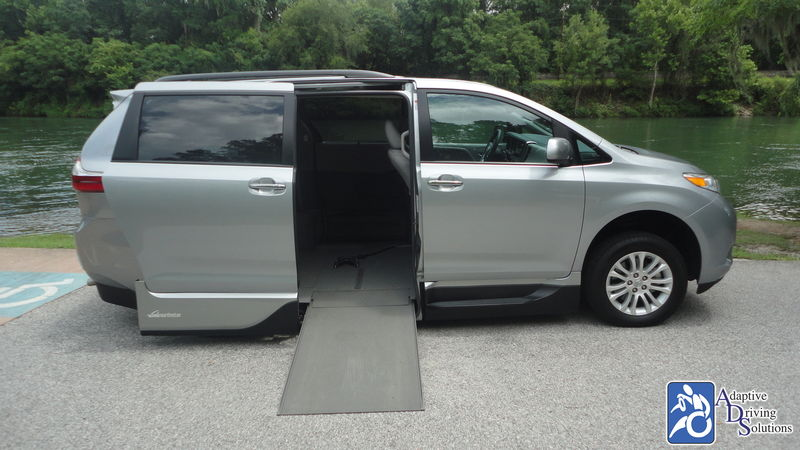 2017 Toyota Sienna Wheelchair Van - Adaptive Driving Solutions