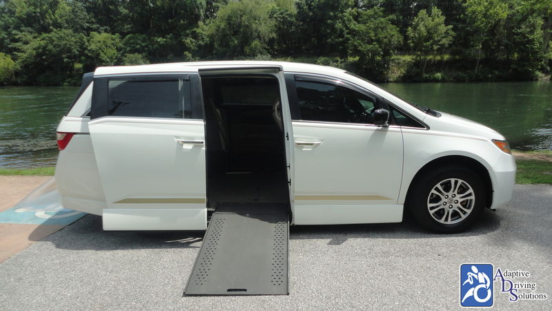 2012 Honda Odyssey Wheelchair Van - Adaptive Driving Solutions