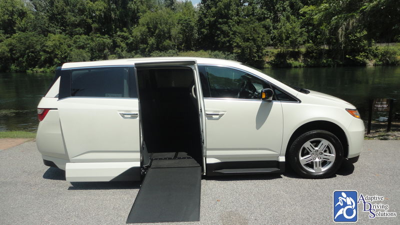 2013 Honda Odyssey Wheelchair Van - Adaptive Driving Solutions