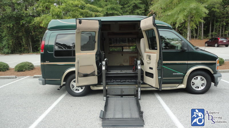 2002 GMC Savana Wheelchair Van - Adaptive Driving Solutions