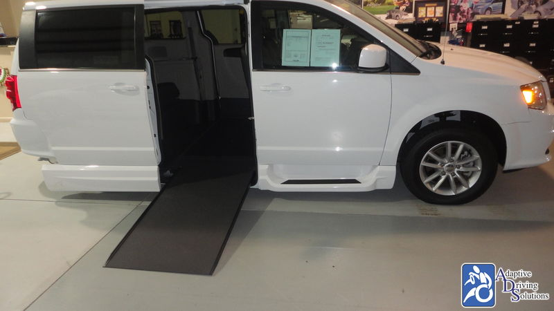 2018 Dodge Grand Caravan Wheelchair Van - Adaptive Driving Solutions