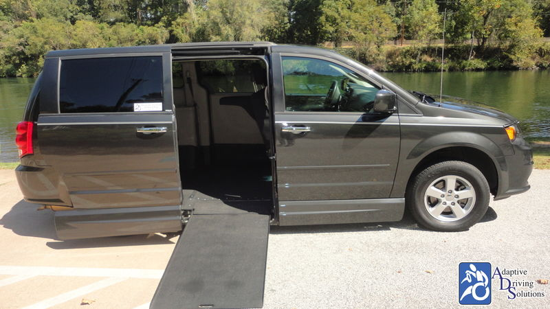 2012 Dodge Grand Caravan Wheelchair Van - Adaptive Driving Solutions