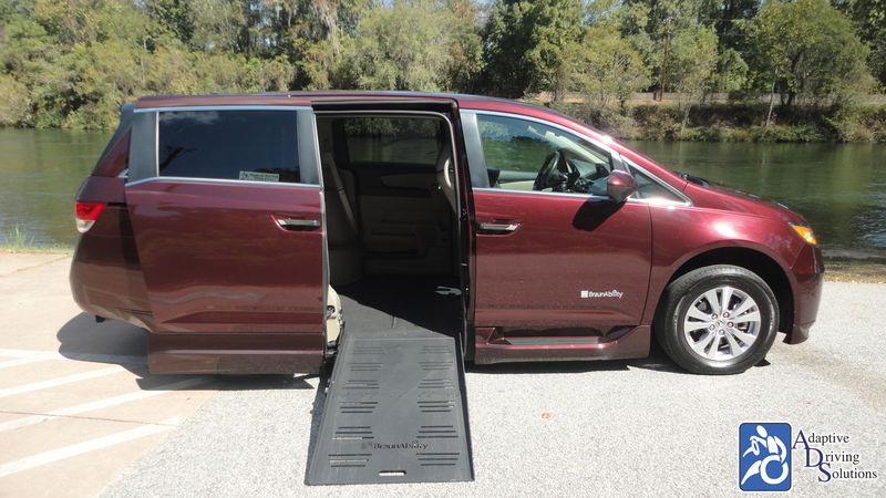 2015 Honda Odyssey Wheelchair Van - Adaptive Driving Solutions
