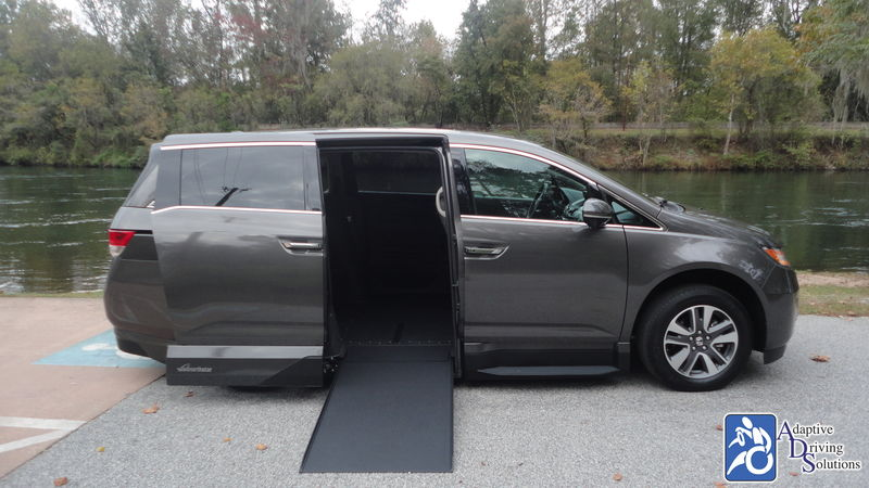 2017 Honda Odyssey Wheelchair Van - Adaptive Driving Solutions