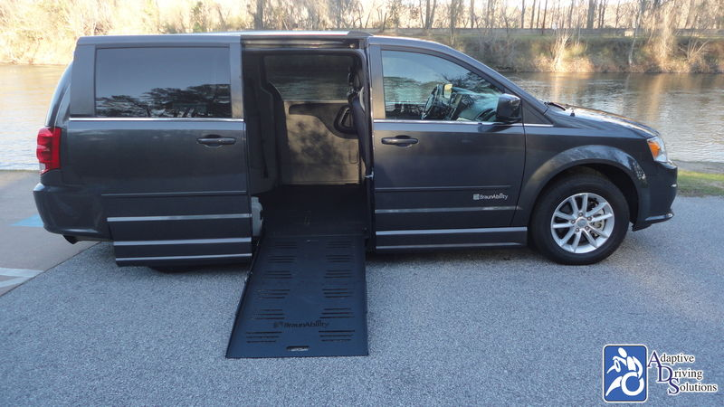 2017 Dodge Grand Caravan Wheelchair Van - Adaptive Driving Solutions