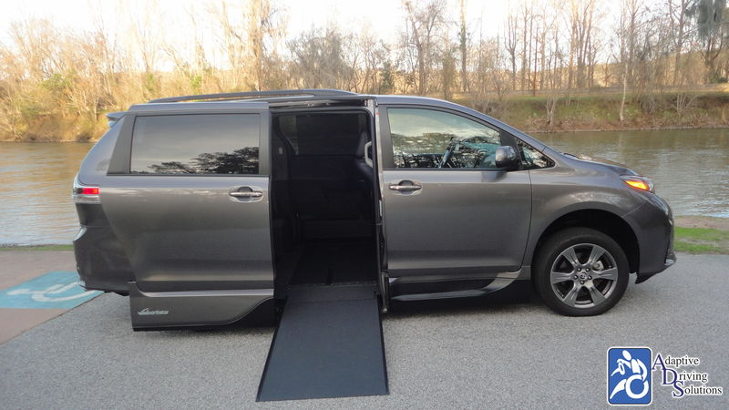 2018 Toyota Sienna Wheelchair Van - Adaptive Driving Solutions