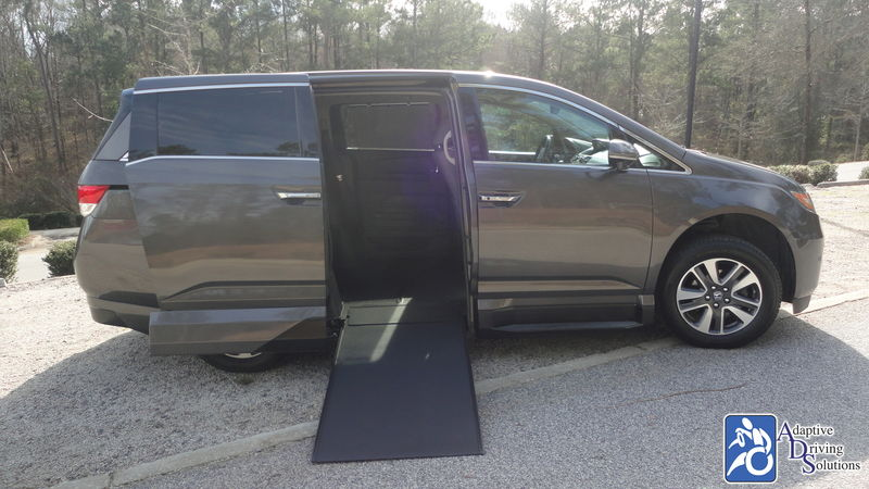 2016 Honda Odyssey Wheelchair Van - Adaptive Driving Solutions