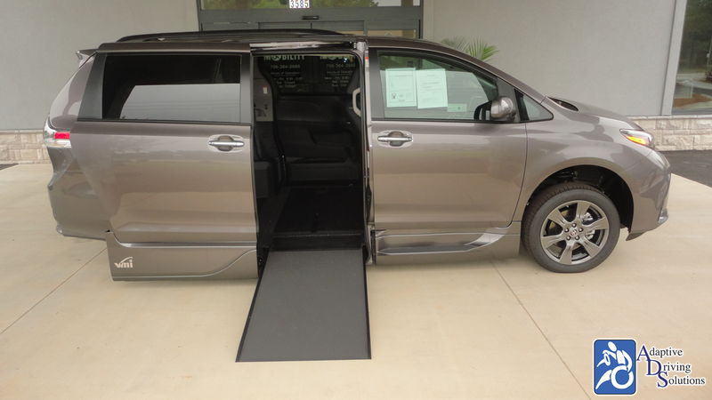 2020 Toyota Sienna Wheelchair Van - Adaptive Driving Solutions
