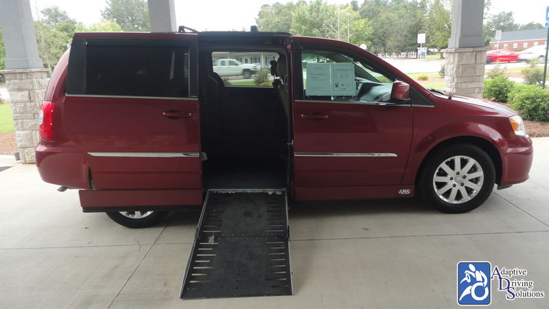 2014 Chrysler Town and Country Wheelchair Van - Adaptive Driving Solutions