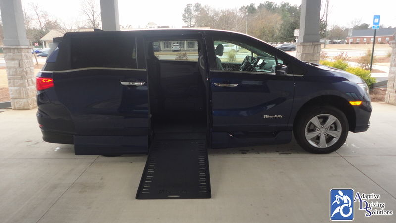 2020 Honda Odyssey Wheelchair Van - Adaptive Driving Solutions