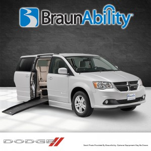BraunAbility Dodge Entervan